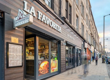 La Favorita Edinburgh