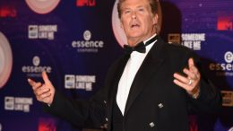 David Hasselhoff at the MTV EMA's