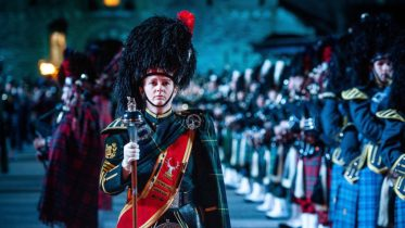 The world-famous Royal Edinburgh Military Tattool