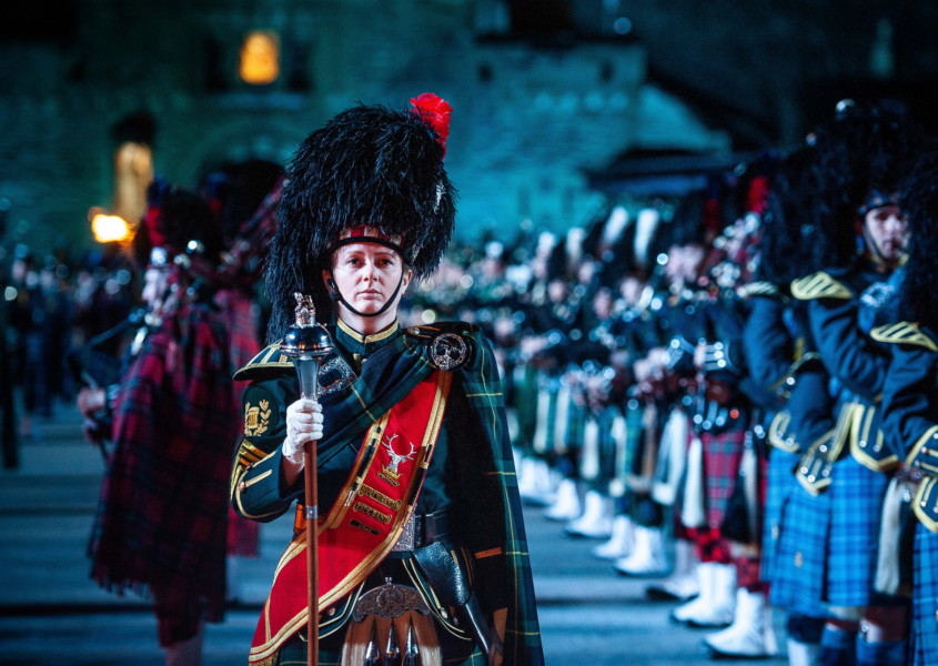 The world-famous Royal Edinburgh Military Tattoo