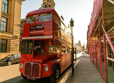 Red Bus Bistro in Edinburgh